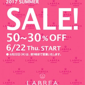 2017 LABREA SUMMER SALE
