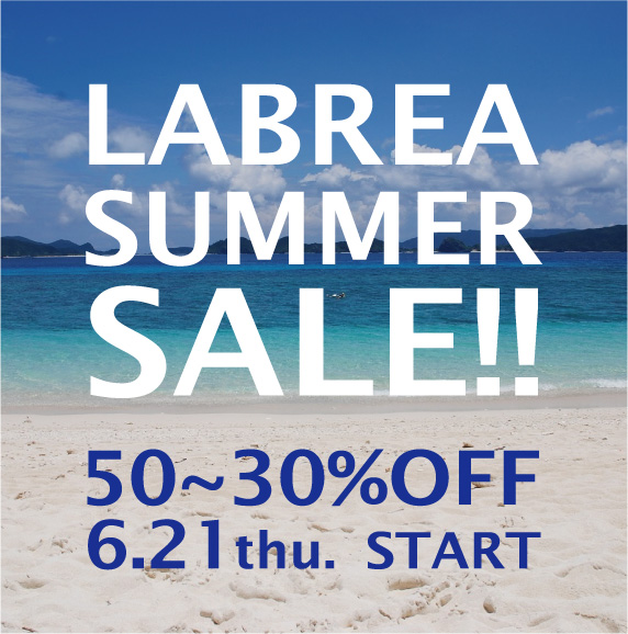 LABREA SUMMER SALE 2018