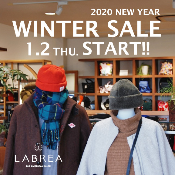 WINTER SALE 2020 LABREA