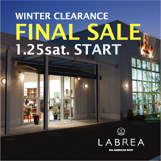 WINTER FINAL SALE 2020